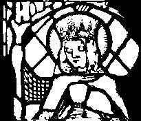 Drawing of a window depicting Eadburh